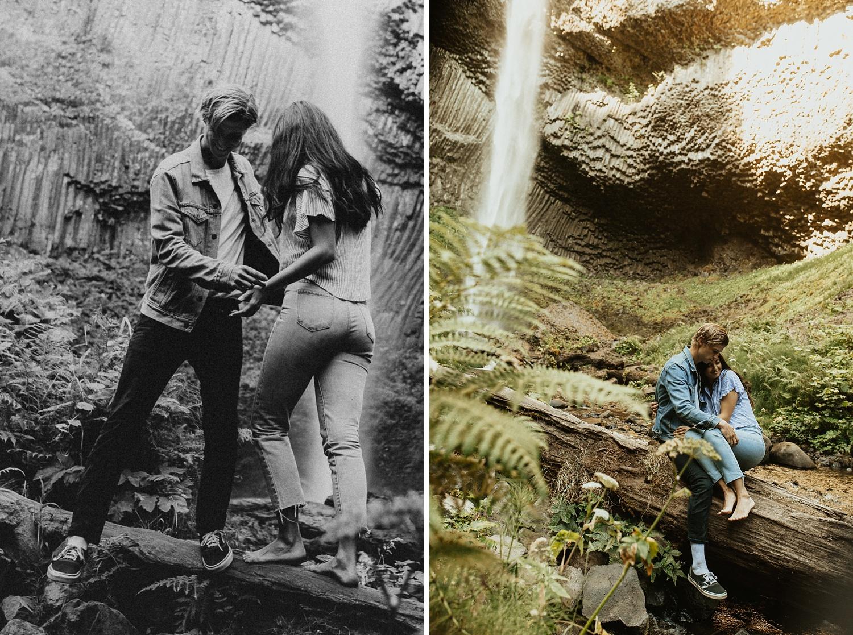 adventurous-mountain-engagement-session-banff-alberta-canada-calgary-edmonton-lethbridge-destination-wedding-photographer-havilah-heger-waterfall-banff-session-couples-photography_35