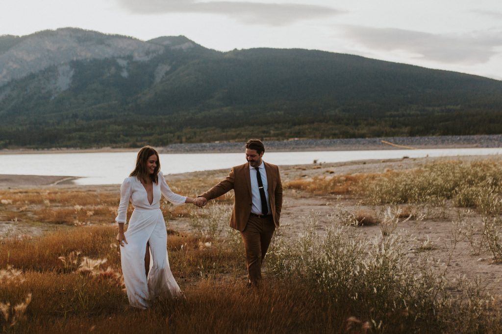 Elopement Wedding at Barrier Lake, Kananaskis_109