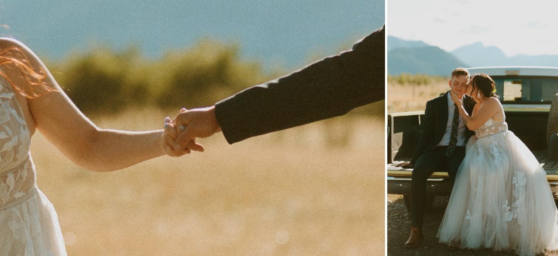 Small Outdoor Wedding in Kananaskis, Kananaskis small wedding with family, Kananaskis outdoor family wedding, kananaskis summer small wedding, kananaskis wedding in front of a lake, dog at ceremony, dog at outdoor wedding ceremony, where to get married in kananaskis, where to elope in kananaskis, kananaskis wedding photographer, kananaskis elopement photographer, Alberta wedding and elopement photographer